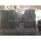 石材厂批发黑色茶几台面板板材 抛光面荔枝面