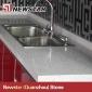 Newstar kitchen countertop crystal white quartz