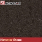 Newstar black quartz artificial stone tile