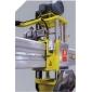 紅外線導柱橋式切石機側面圖示