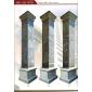 方形柱子 实心柱 拼柱