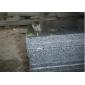 福建灰麻石材 优质地铺石 芝麻黑g654花岗岩蘑菇石 自然面 蘑菇面 厚板 火烧面 剁斧面 小方块
