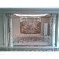 �i昌石材厂家直销各种仿大理石材料,板材,线条,浮雕,门套线,罗马柱,欧式异形