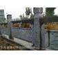 石雕栏杆 汉白玉栏杆花岗岩栏杆生产厂家