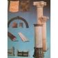 圆柱 实心罗马柱 线条