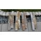 供应天然板岩黄木纹014自然边水泥文化石