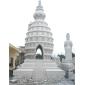 寺庙佛塔 景观石塔 大型花岗岩石材雕刻