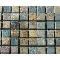 锈石马赛克 大量现货供应 天然文化石 板岩 页岩 青石板 厂家直销