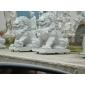 卧狮 景观石狮子 狮子雕刻 动物雕刻 园林景观石雕工艺