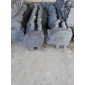 大量现货供应 天然文化石 青石动物装饰挂件、石贴(小猪)板岩