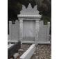 墓碑2、护栏,青石板、雕刻