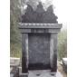 墓碑3、护栏,青石板、雕刻