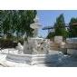 汉白玉喷泉