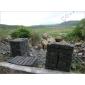 纯黑色花岗岩路沿石GCPB805