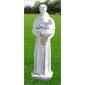 人物雕刻墓碑石GMS019