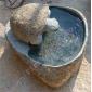乌龟雕刻流水石GAF285