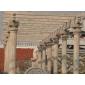龍柱、九龍壁、石雕、石牌坊、浮雕牌坊、石桌椅、天青石、石獅子、石麒麟、石亭子、石欄桿、 寺廟石塔、