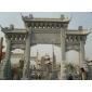 石牌坊、東方、西方、動物、影雕、人物、卡通、石雕、石牌坊、浮雕牌坊、石亭、石欄桿 石雕景觀園林 寺廟