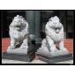 北京石狮子、青石石狮子、石雕汉白玉石狮子、镇宅石狮子、造型逼真、畅销全国