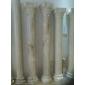 天然玉石羅馬柱