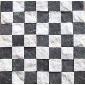 黑白石英马赛克