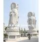 惠安石雕厂家供应石雕三面观音 滴水观音 送子观音