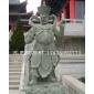 青石雕刻 石雕四大天王 四大金刚  寺庙石雕神像