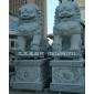 墓地石獅子 寺廟石獅子 石雕獅子擺件