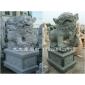 青石石狮 白麻石狮 各种石材石雕狮子生产定做