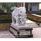 守门纳吉精品石雕大象 石雕大象雕刻厂家 惠安石雕厂