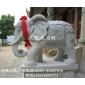 石雕花岗岩大象 寺庙守门石雕大象