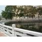 河道水利护栏 石栏杆 石栏板