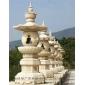 佛教石塔石雕經幢塔