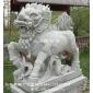 麒麟石雕工艺品 景区招财石雕麒麟