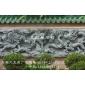 石雕九龍壁 寺廟浮雕 影壁 壁照