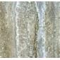 銀灰洞石石材復合板