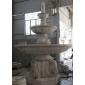 黄锈石喷泉 喷泉生产厂家 石雕水钵定做
