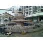 欧式水钵 庭院水钵 黄●锈石水钵 水钵厂家