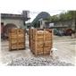 装好箱的鹅卵石各种小规格板材贵州所有品种