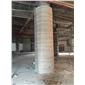 白木纹工程板(12面梯形柱对纹)