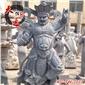 專業定制石雕四大天王像-西方廣目天王 石雕天王像 四大金剛像
