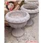 长期供应石雕花盆、石雕花钵、欧式花盆、石雕鱼缸