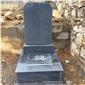 芝麻黑花岗岩墓碑