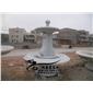 厂家供应花岗岩黄锈石喷泉雕刻石雕水钵直径2.3米现货批发