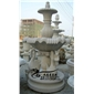 大理石喷泉雕刻加工厂 园林欧式石雕喷泉 喷水花钵水钵