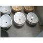 B-121白色大理石〓异形洗手盆WHITE MARBLE BASIN