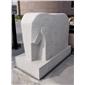 石雕大象 抽象动物石雕 供应广东动物雕刻