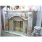 F-002欧式古典冰玉壁炉Fireplace Mantel