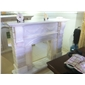 F-247天然白玉石雕刻壁爐WHITE ONYX FIREPLACE MANTEL