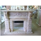 F-249进口天然冰玉壁炉MARBLE FIREPLACE MANTEL